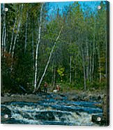 Retirement Is Time For Fishing Acrylic Print
