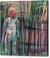 Return Of Pumpkinhead Man Acrylic Print