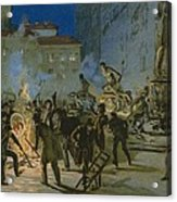 Revolution In Florence Acrylic Print