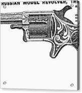 Revolver Ad, 1878 Acrylic Print