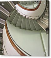 Revolving Stairs Acrylic Print by Photo By Dasar