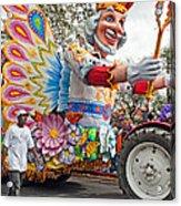 Rex Mardi Gras Parade IIi Acrylic Print