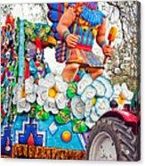 Rex Mardi Gras Parade V Acrylic Print