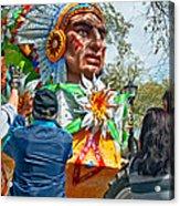 Rex Mardi Gras Parade Vii Acrylic Print