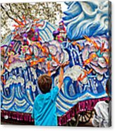 Rex Mardi Gras Parade Viii Acrylic Print