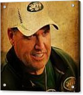 Rex Ryan - New York Jets Acrylic Print