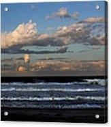 Rexham Beach Sky Acrylic Print