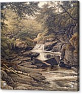 Rhiadr Ddu Near Maentwrog North Wales Acrylic Print
