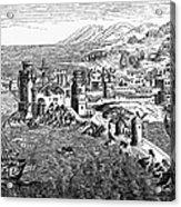 Rhodes, 1488 Acrylic Print