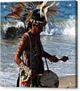 Rhythm Of The Ocean Acrylic Print