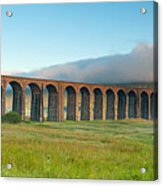 Ribblehead Viaduct, Yorkshire Dales Acrylic Print