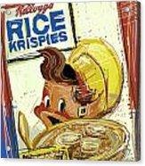 Rice Krispies Acrylic Print