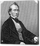 Richard Cobden (1804-1865). /nenglish Politician And Economist. Steel Engraving, English, 19th Century Acrylic Print