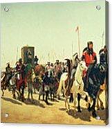 Richard Coeur De Lion On His Way To Jerusalem Acrylic Print