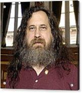 Richard Stallman, Software Developer Acrylic Print