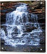 Ricketts Glen Waterfall 4075 Acrylic Print