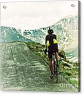 Ride The Rockies Acrylic Print