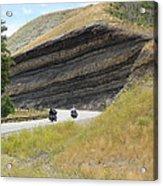 Riders In The Cut Acrylic Print