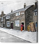 Ridgeway Fold Acrylic Print