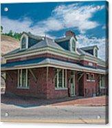 Ridgway Depot 16744 Acrylic Print