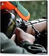 Rifle Training Acrylic Print