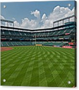 Right To Left At Oriole Park Acrylic Print