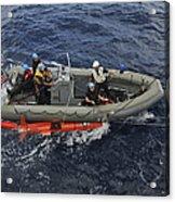 Rigid-hull Inflatable Boat Operators Acrylic Print