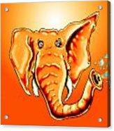 Ringo Party Animal Orange Acrylic Print