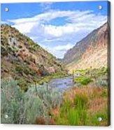 Rio Grande Colors Acrylic Print