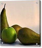 Ripe Pears Acrylic Print