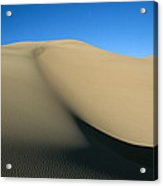 Rippled Sand Dunes In Great Sand Dunes Acrylic Print