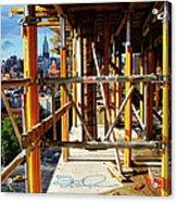 Rising Loisaida Acrylic Print