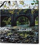 River Annalee, Ballyhaise, Co Cavan Acrylic Print