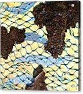 River By Twelve Panel 8 Acrylic Print
