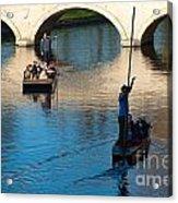 River Cam Traffic Acrylic Print