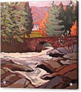 River Dochart Killin Acrylic Print
