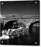 River Erne Bridge Enniskillen County Fermanagh Ireland Acrylic Print