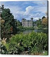 River In Front Of A Castle, Johnstown Acrylic Print
