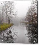 River In The Fog Acrylic Print