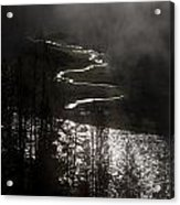 River Of Silver Acrylic Print