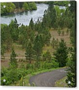 River Road Acrylic Print