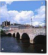 River Slaney, Enniscorthy, Co Wexford Acrylic Print