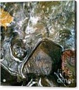 River Swirls Acrylic Print
