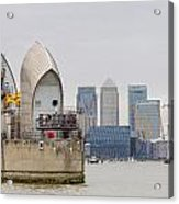 River Thames Landscape Acrylic Print