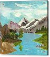 River Through Magnificance Acrylic Print