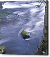 River Time Exposure Acrylic Print