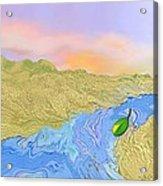 River To The Sea Acrylic Print
