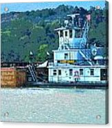 River Transportation Acrylic Print