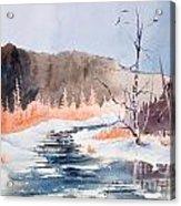 River Valley Acrylic Print