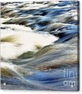 River Waves  Acrylic Print